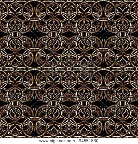 Decorative Futuristic Dark Pattern