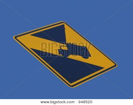 Low Bridge Warning Sign