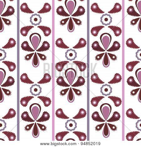Seamless Ornamental Pattern Background