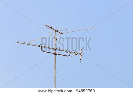 Aerial Digital Television Radio Antenna