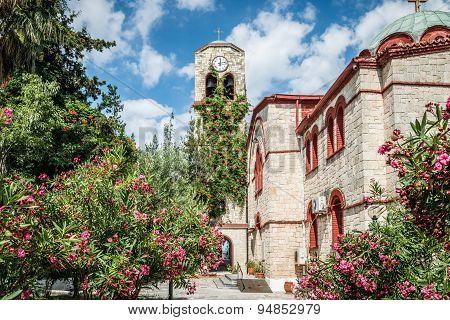 Colorful Greek Church