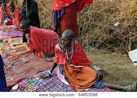 Masai market