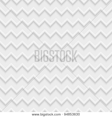 3D Geometric Seamless Pattern, Vector Abstract Background