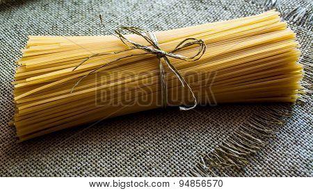 spaghetti on mats