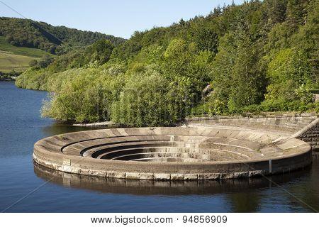Ladybower Reservoir Sinkhole