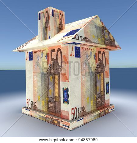 3D House From The Mone Euro