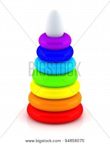 Toy pyramid