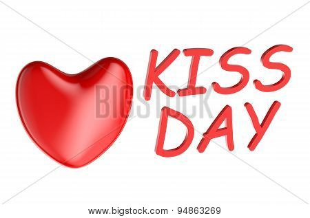 Kiss Day Concept