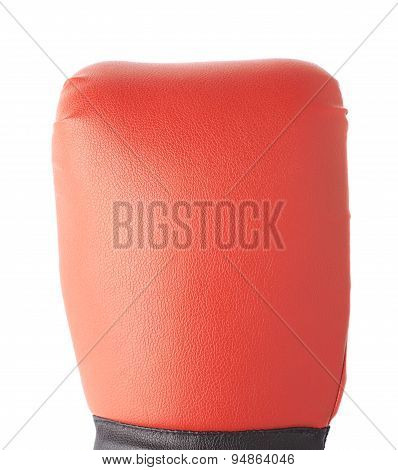 Red boxing glove's fragment