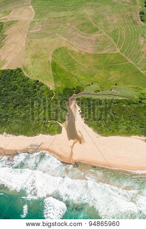 Flying Beach Lagoon Farmlands