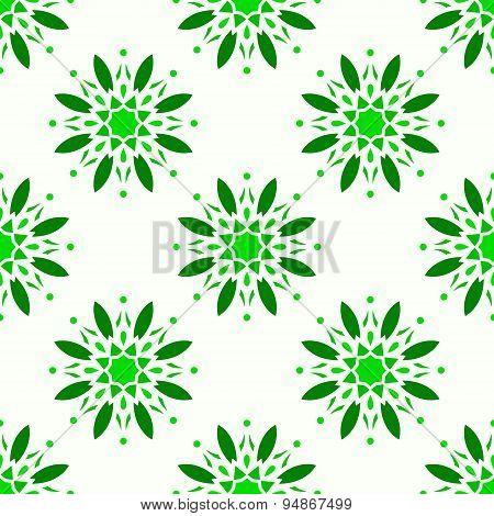 Seamless ornamental symbols pattern