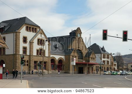 Main Station, Eisenach, Germany