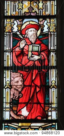 Stained Glass - Saint Jerome