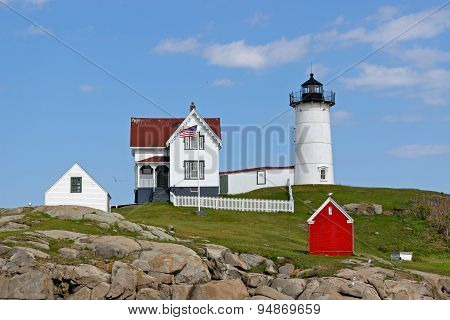 The Nubble Light House
