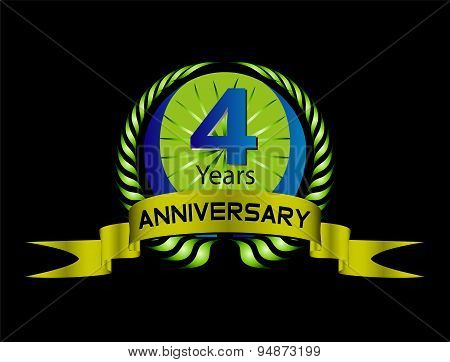 4 year birthday celebration, 4th anniversaryset
