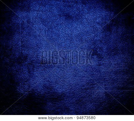 Grunge background of Air Force blue (USAF) leather texture
