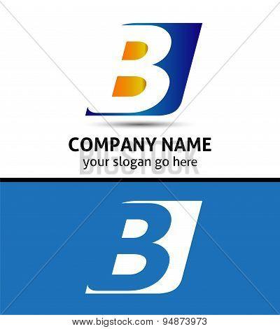 Letter A logo design sample