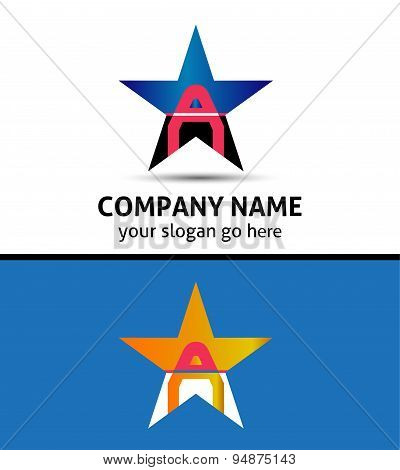 Letter A Logo Icon
