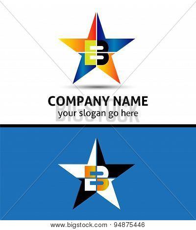 Letter B Logo Icon design illustration template