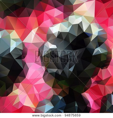 Abstract background with polygons for design