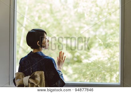 Lonely Japanese Woman