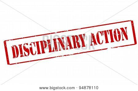 Disciplinary Action