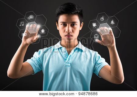 Pushing Digital Buttons