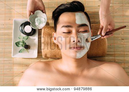 Having Beauty Treatment