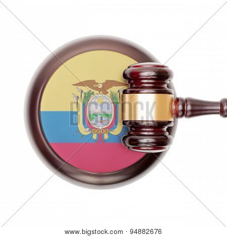 National Legal System Conceptual Series - Ecuador