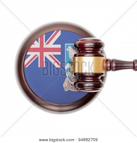 National Legal System Conceptual Series - Falkland Islands