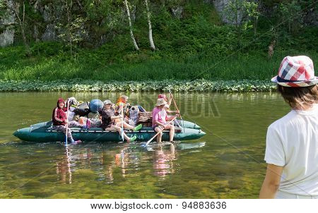 Rubber Boat Rowers