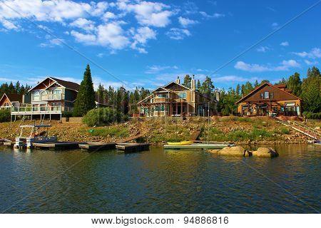 Homes on Lake