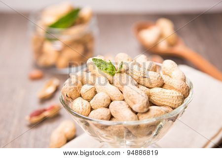 Peanut In Container