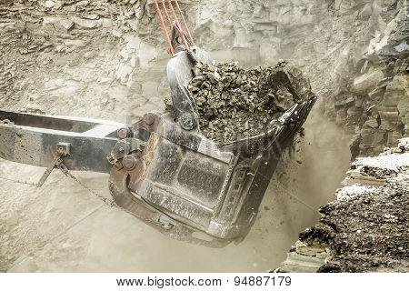 Buckets Are Lignite Coal Loader.