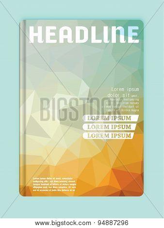 Brochure Design Full Color Template Cover  Business Presentations
