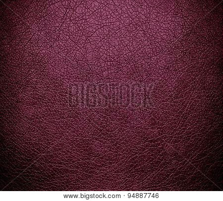 Deep ruby leather texture background