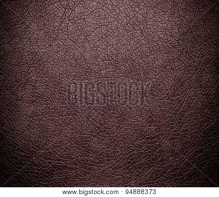 Deep taupe leather texture background