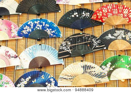 Chinese traditional fans