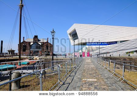The Museum of Liverpool.