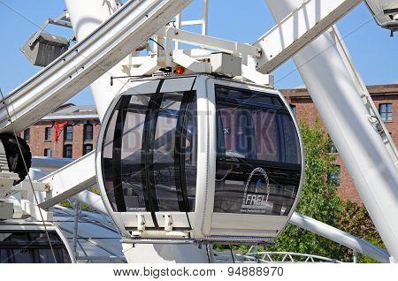 Echo Wheel Pod, Liverpool.