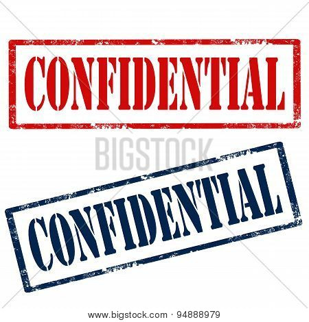 Confidential-stamps