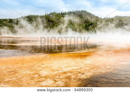 Grand Prismatic Spring - Yellowstone N.p.