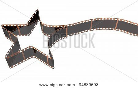 Film Strip Shooting Star Curled
