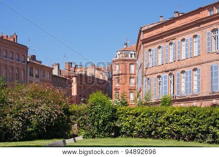 St. Etienne Square In Toulouse