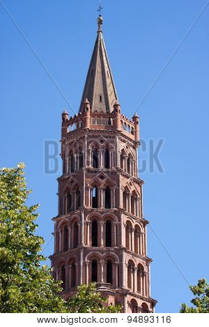 St. Sernin Basilica In Toulouse