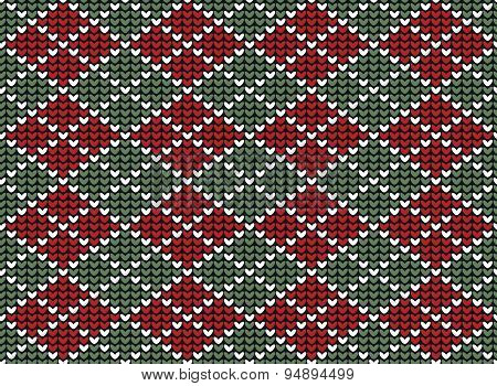 Argyle background pattern