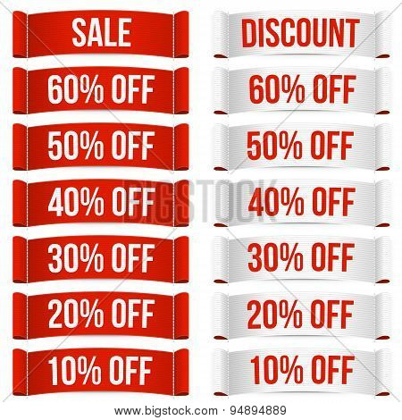 Discount Price Labels