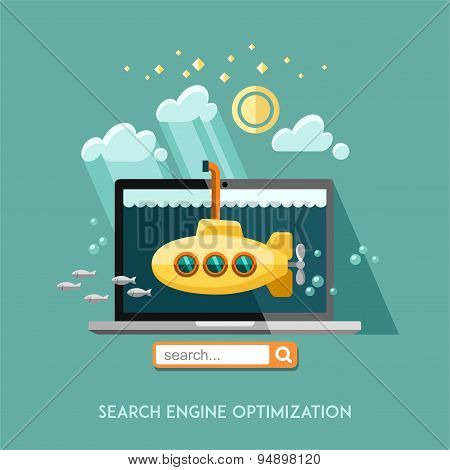 Search engine optimization.