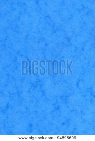 Blue mottled paper background