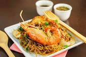 ������, ������: Shrimp Baked With Vermicelli